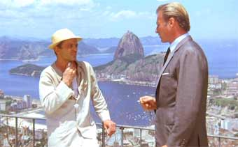 With Klaus Kinski high above Rio
